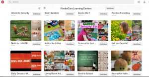 Pinterest - KinderCare