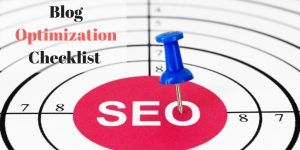 SEO Blog Optimization Checklist for Blogs